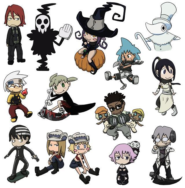 Soul_Eater_Chibies_by_GriffinWind